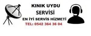 İzmir Kınık Uydu Servisi
