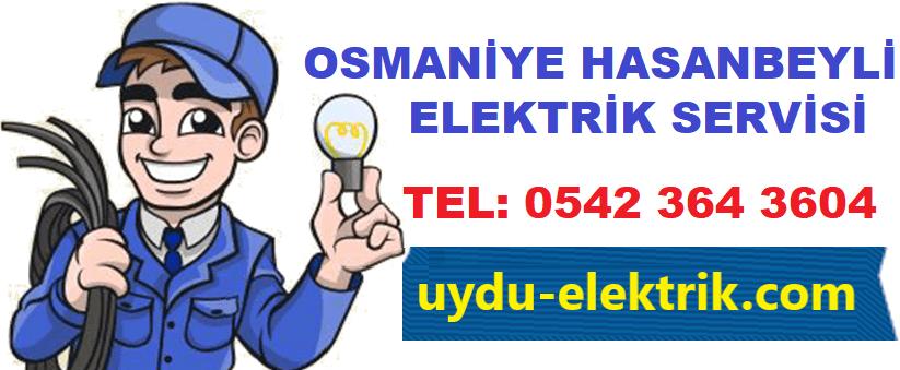 Osmaniye Hasanbeyli Elektrikçi