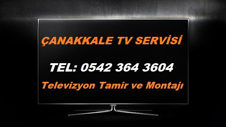 Çanakkale Tv Servisi