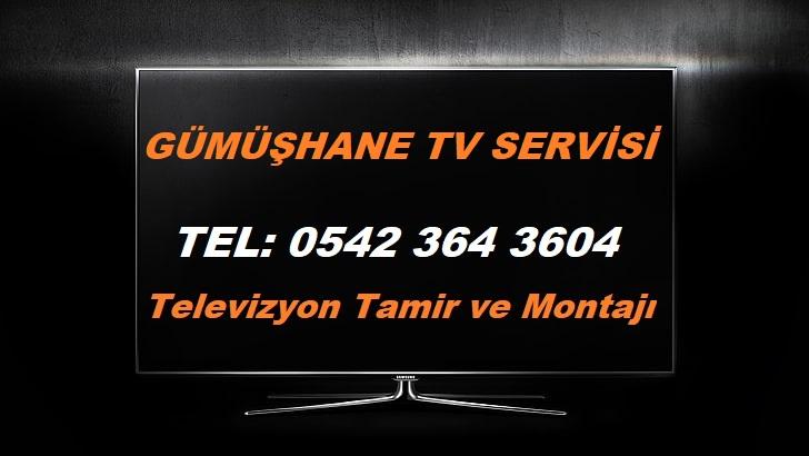 Gümüşhane Tv Servisi