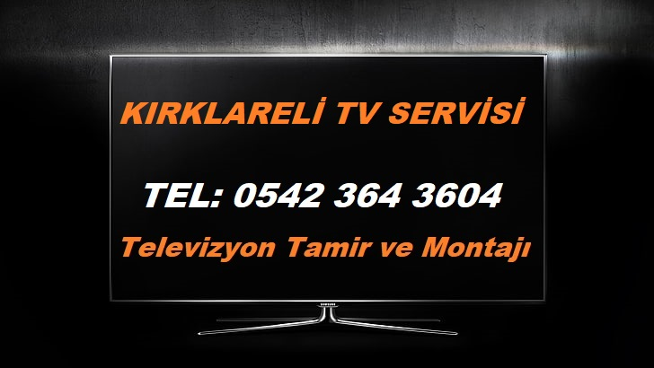Kırklareli TV Servisi
